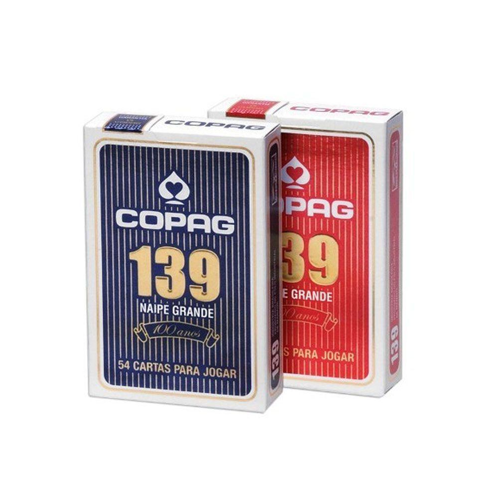 Jogo de Cartas Baralho Truco Poker- Blister 139 - Unid - Copag  - Loja do Competidor