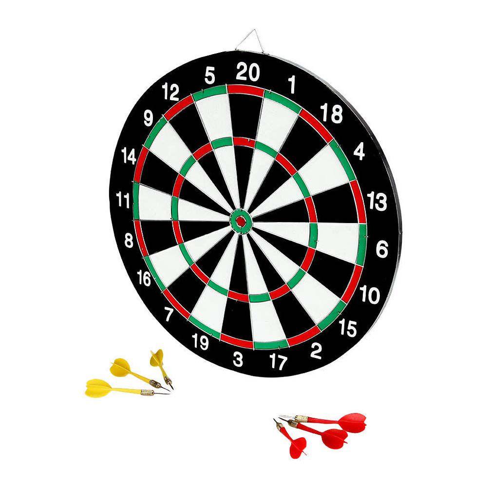 Jogo de Dardos / Tabuleiro - Dupla Face - DB15 - 6 Dardos - Ying  - Loja do Competidor