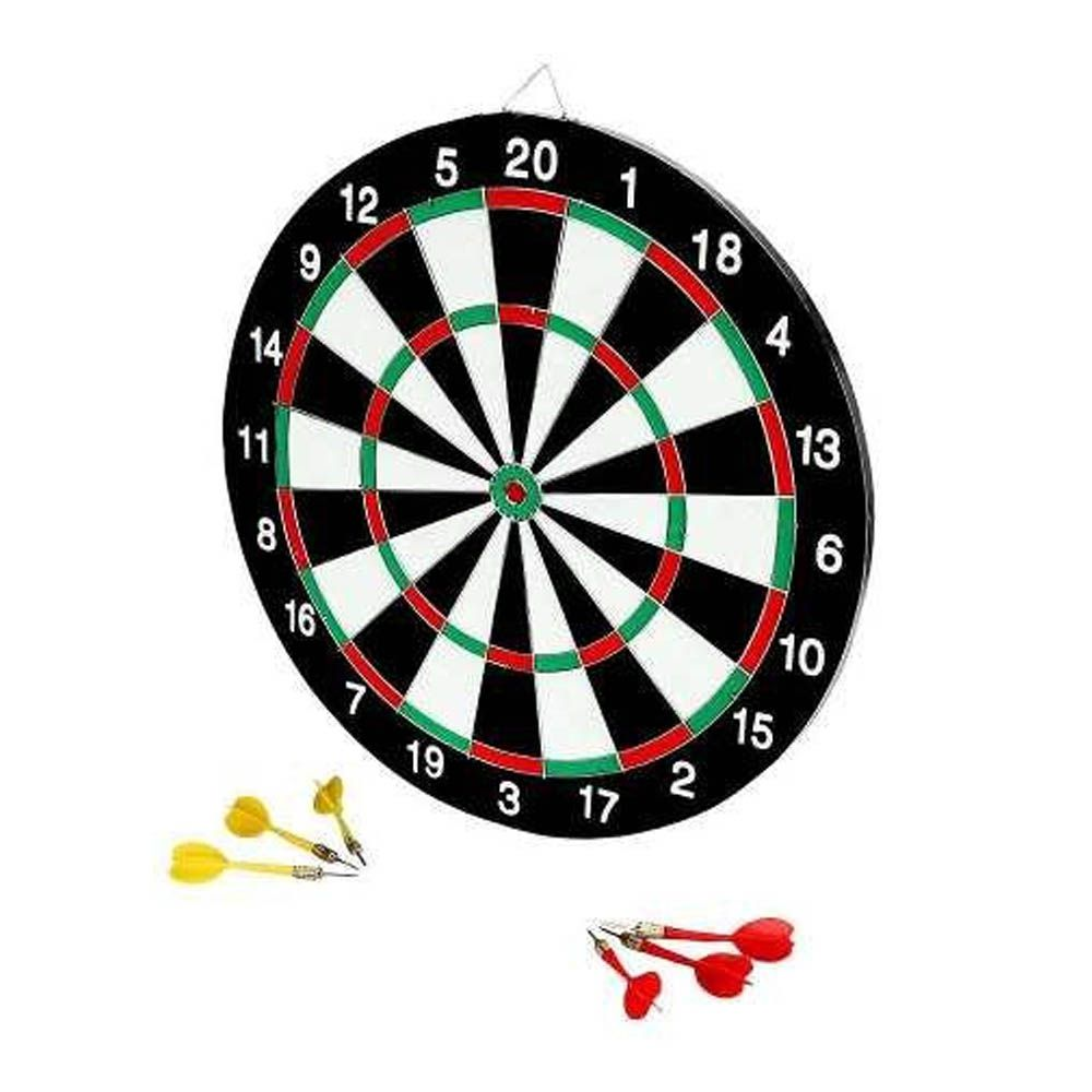Jogo de Dardos Tabuleiro - Dupla Face - DB17 - 6 Dardos - Ying