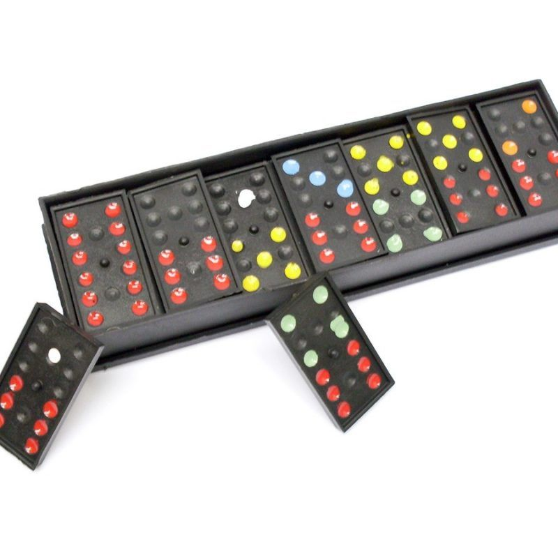 Jogo de Mesa / Tabuleiro - Domino - 28 Peças -  Plástico - Pentagol