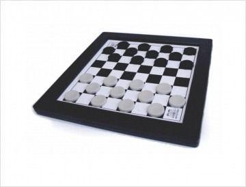 Jogo de Tabuleiro Damas e Trilha - Plástico - Sem Estojo - Grande - Pentagol  - Loja do Competidor