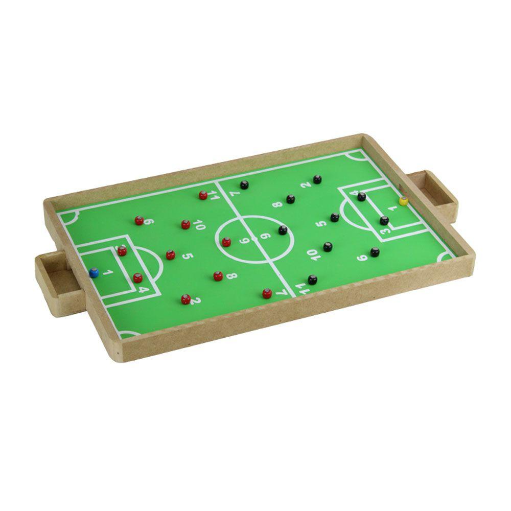 Jogo de tabuleiro -Dedobol Prime - Futebol - Madeira - Pentagol