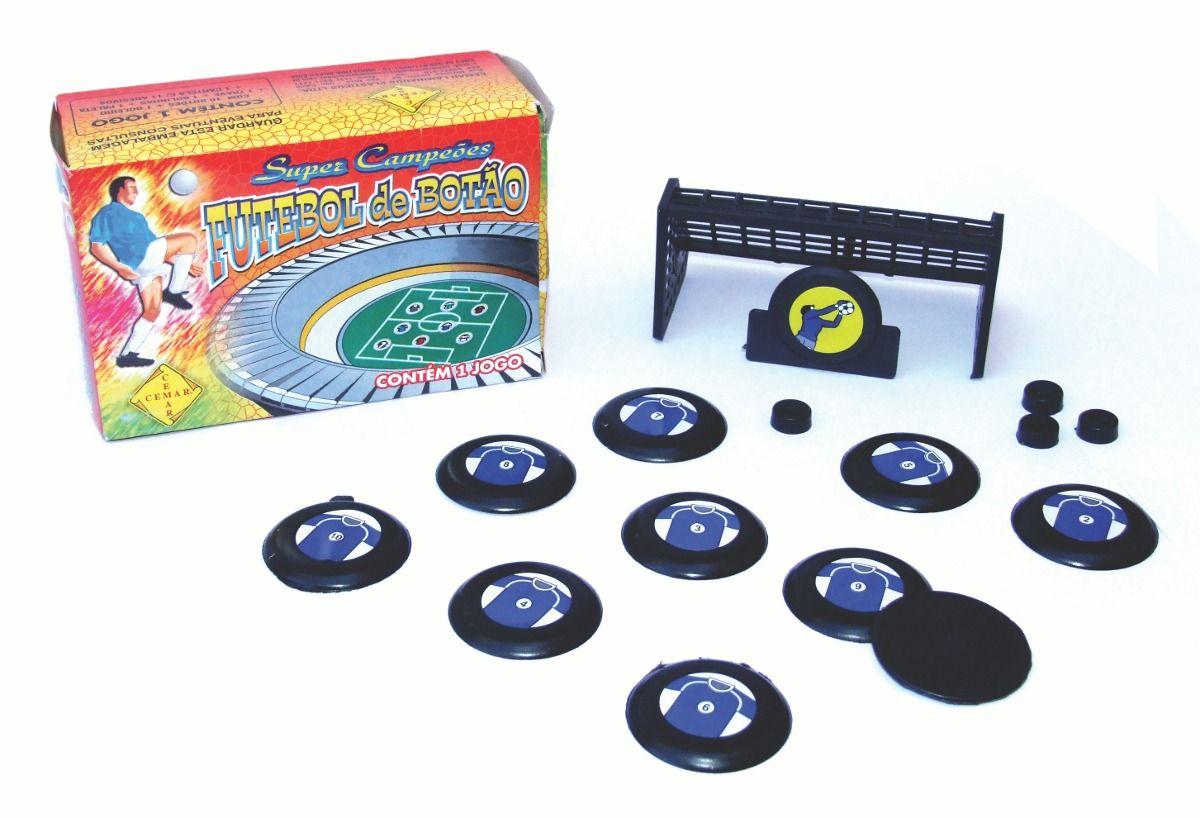 Jogo Futebol de Botao de Mesa - 2 Times  - Loja do Competidor