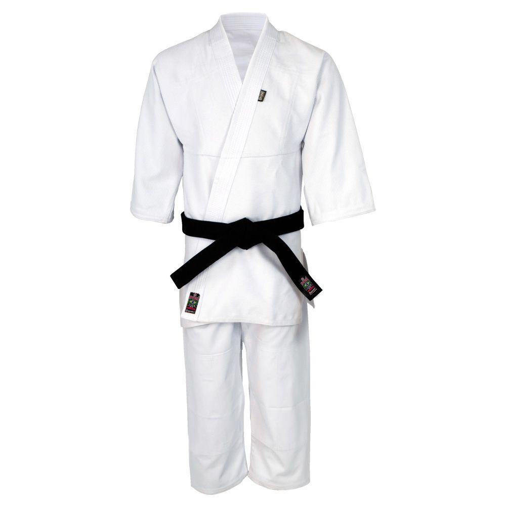 Kimono Aikido - Trancado - Standart - Shiroi - Branco  - Loja do Competidor