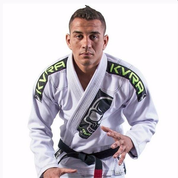 Kimono Jiu Jitsu - BJJ Style - Trancado - Kvra- Branco