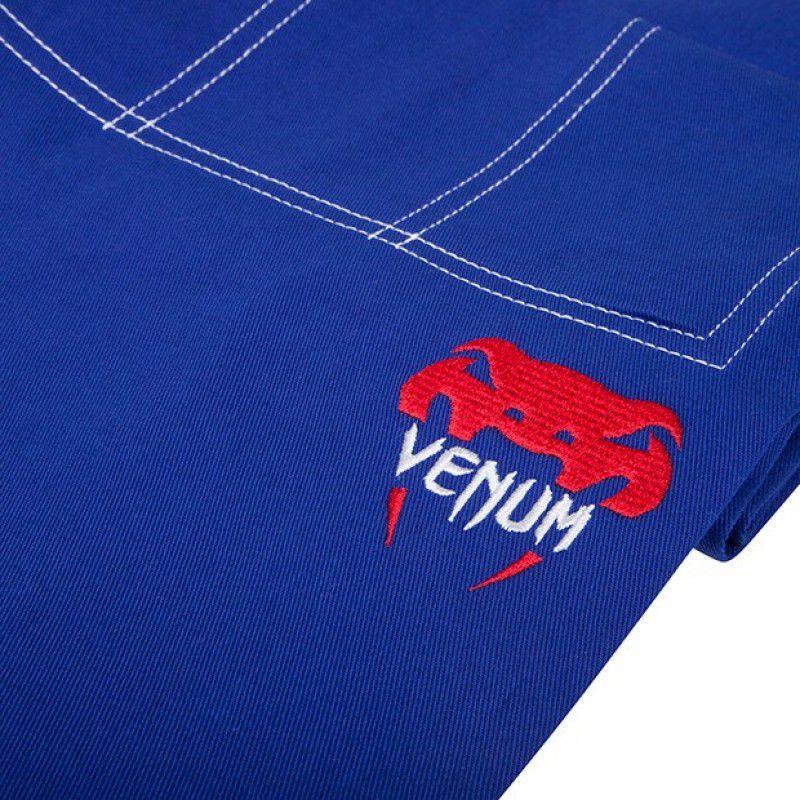Kimono Jiu Jitsu - Challenger 2.0 - Trancado - Venum - Azul .  - Loja do Competidor