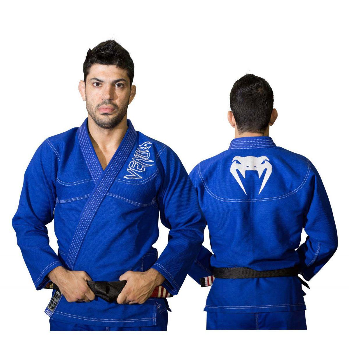 Kimono Jiu Jitsu - Competition Brasil  - Trancado - Venum - Azul .