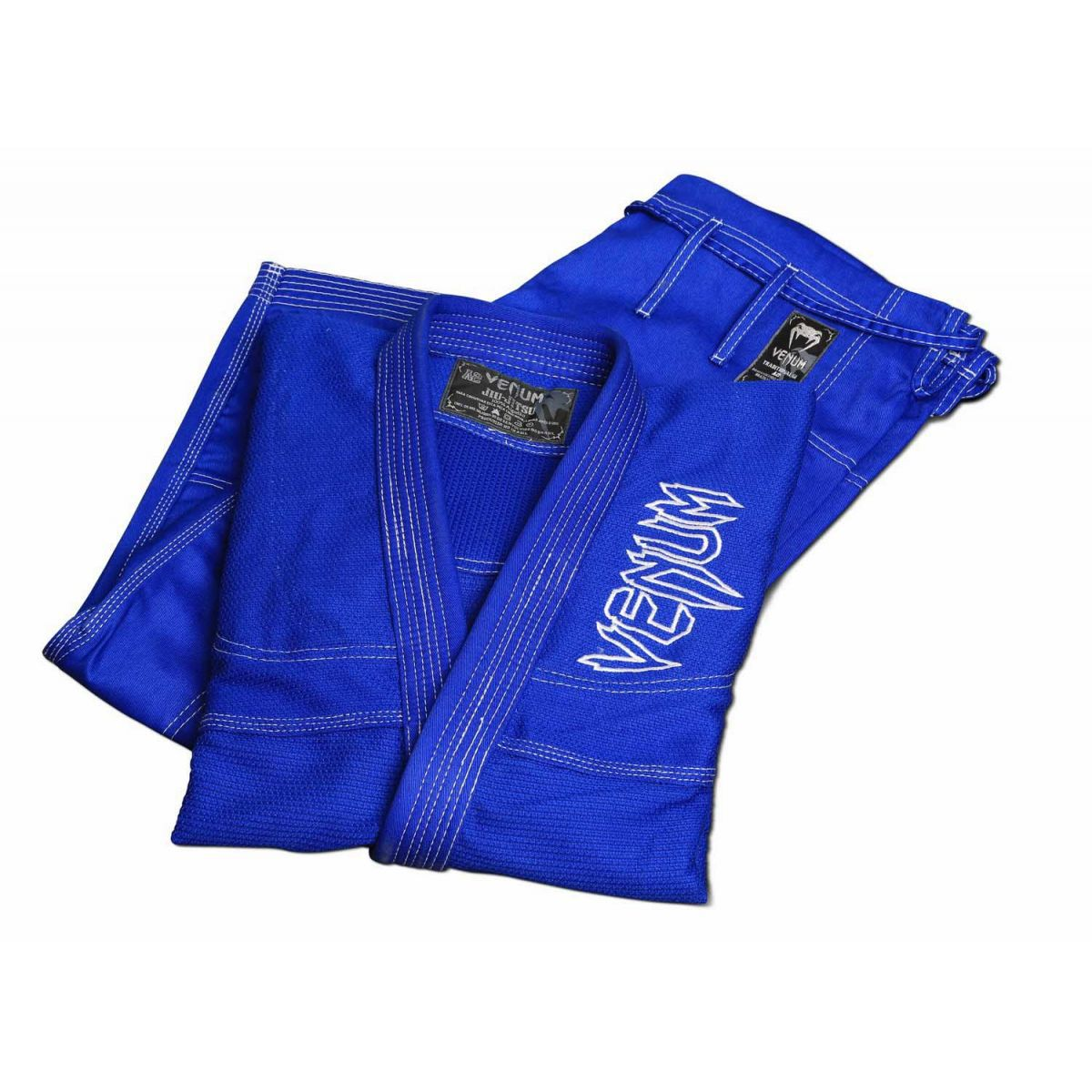 Kimono Jiu Jitsu - Competition Brasil  - Trancado - Venum - Azul .  - Loja do Competidor
