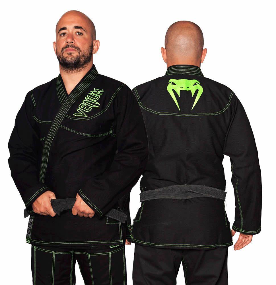 Kimono Jiu Jitsu - Competition Brasil  - Trancado - Venum - Preto