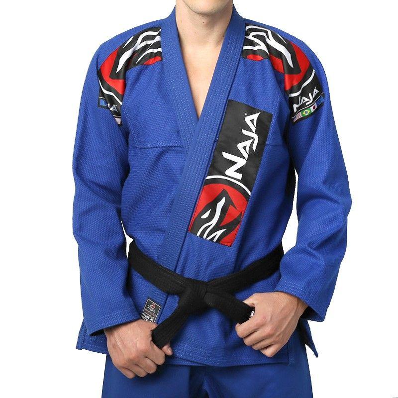 Kimono Jiu Jitsu - Extreme - Trancado - Naja - Azul .