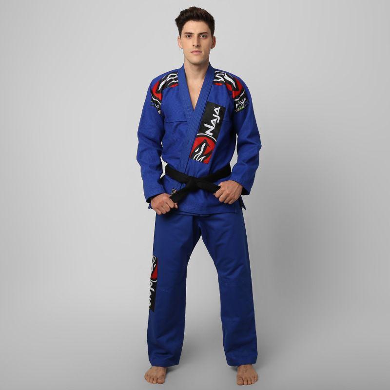 Kimono Jiu Jitsu - Extreme - Trancado - Naja - Azul .  - Loja do Competidor