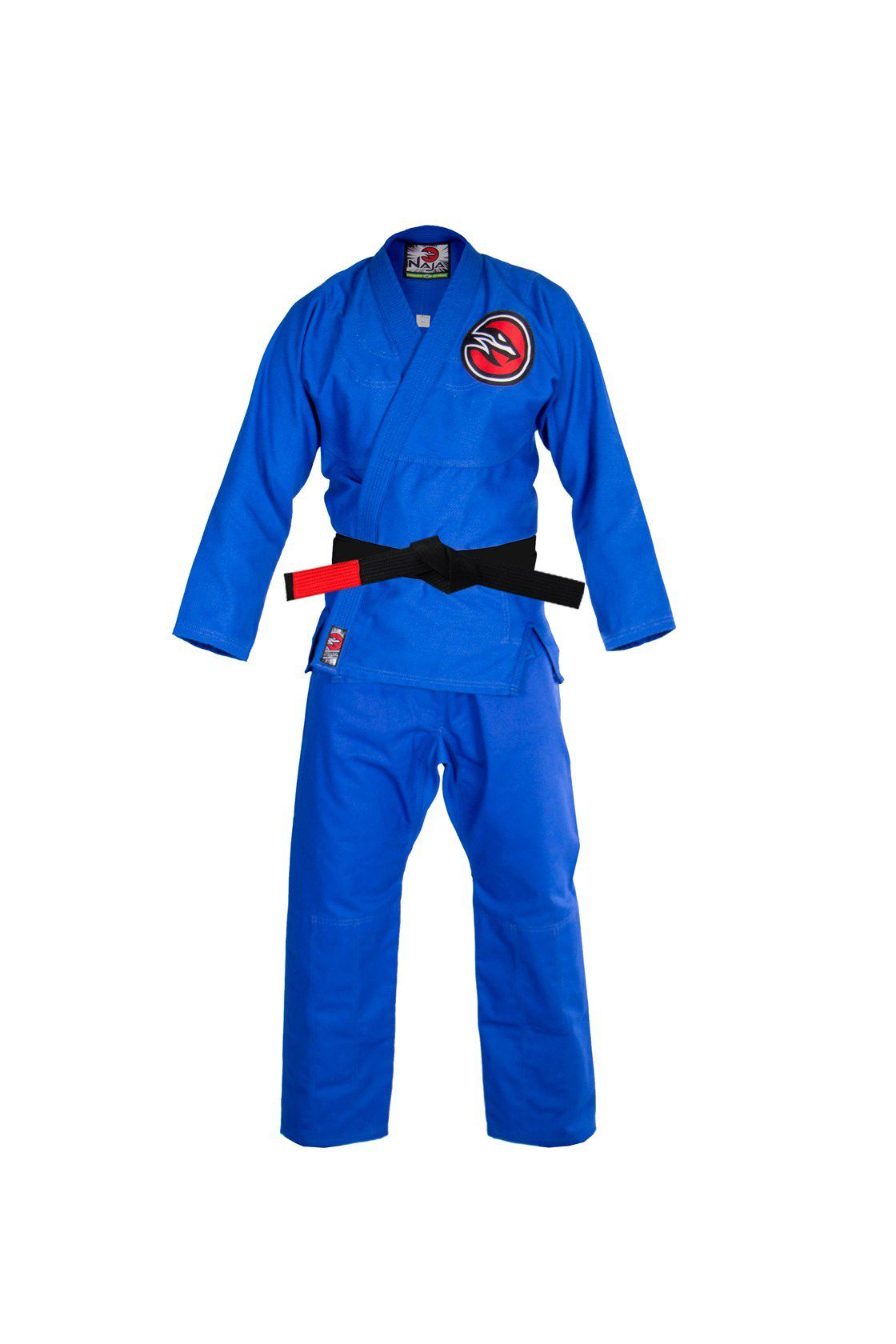 Kimono JIu Jitsu Naja New First Trançado Leve OPP - Azul