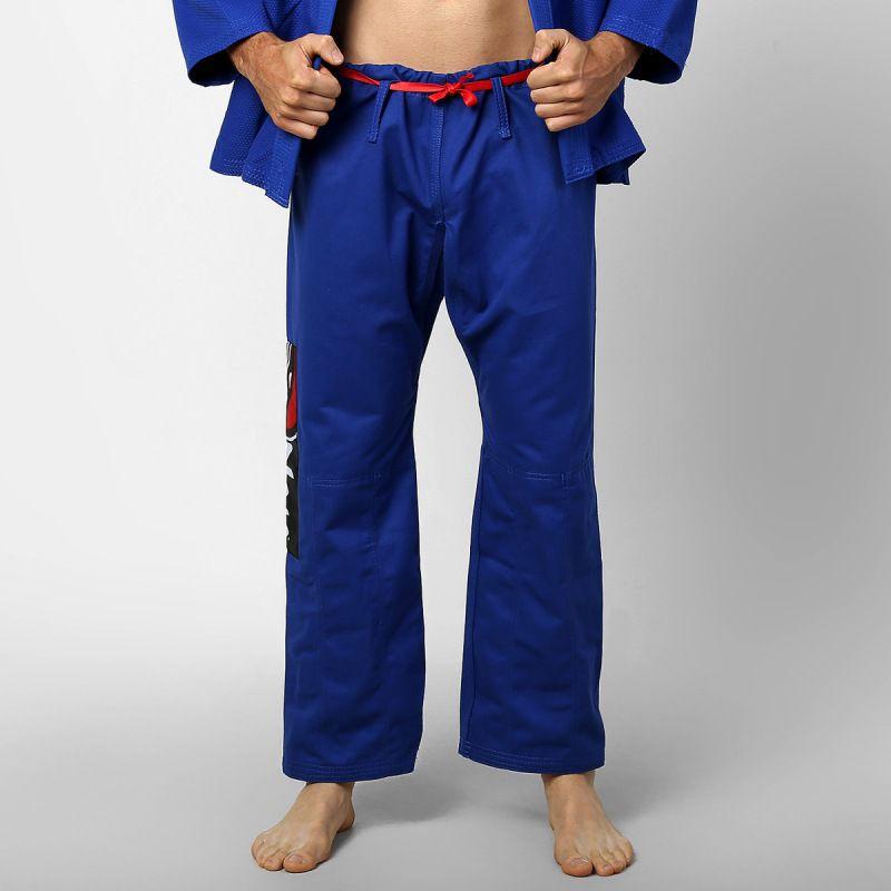 Kimono Jiu Jitsu - One - Trancado - Naja - Azul -  - Loja do Competidor