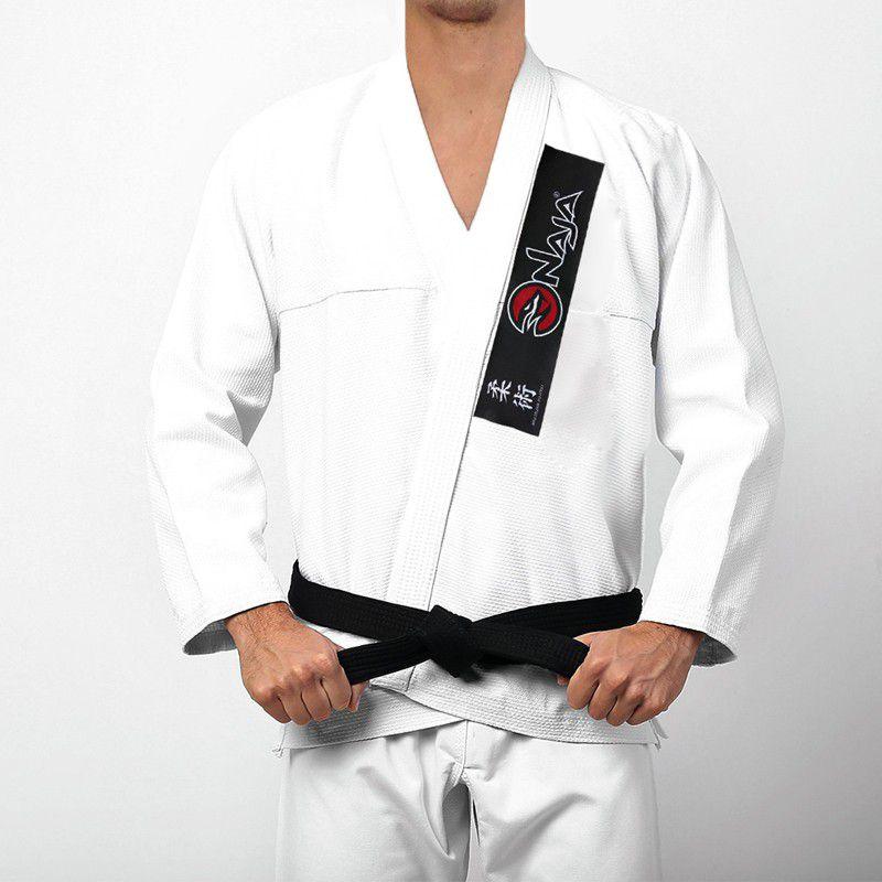 Kimono Jiu Jitsu - One - Trancado - Naja - Branco -