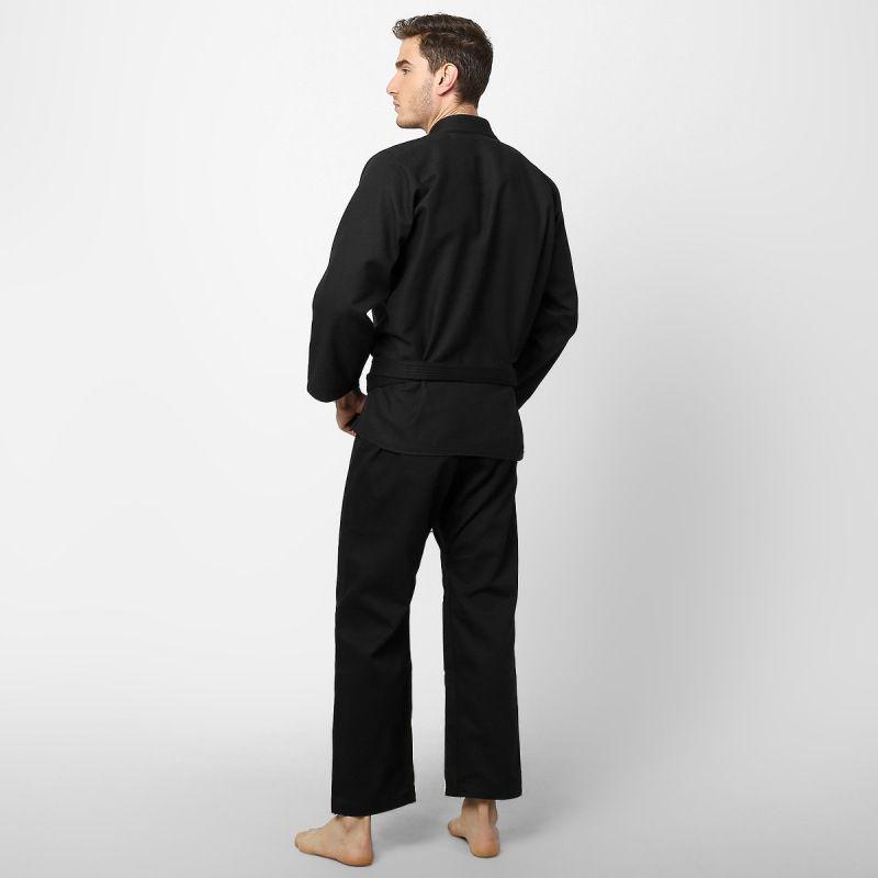 Kimono Jiu Jitsu - One - Trancado - Naja - Preto -  - Loja do Competidor