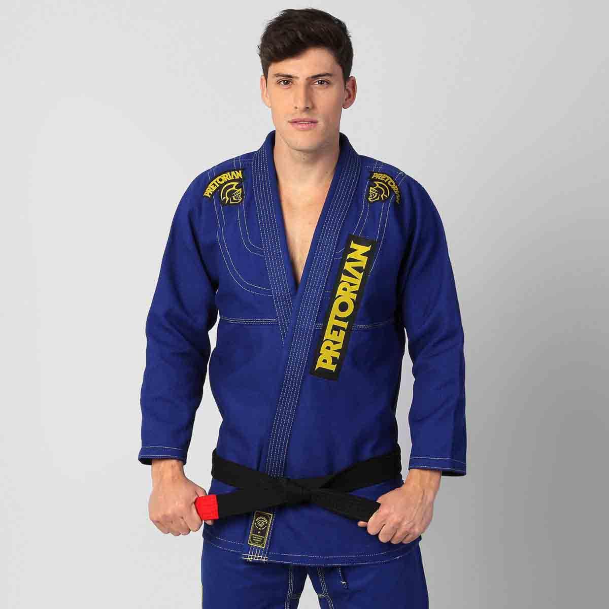 Kimono Jiu Jitsu - Pretorian Elite Pro - Azul -