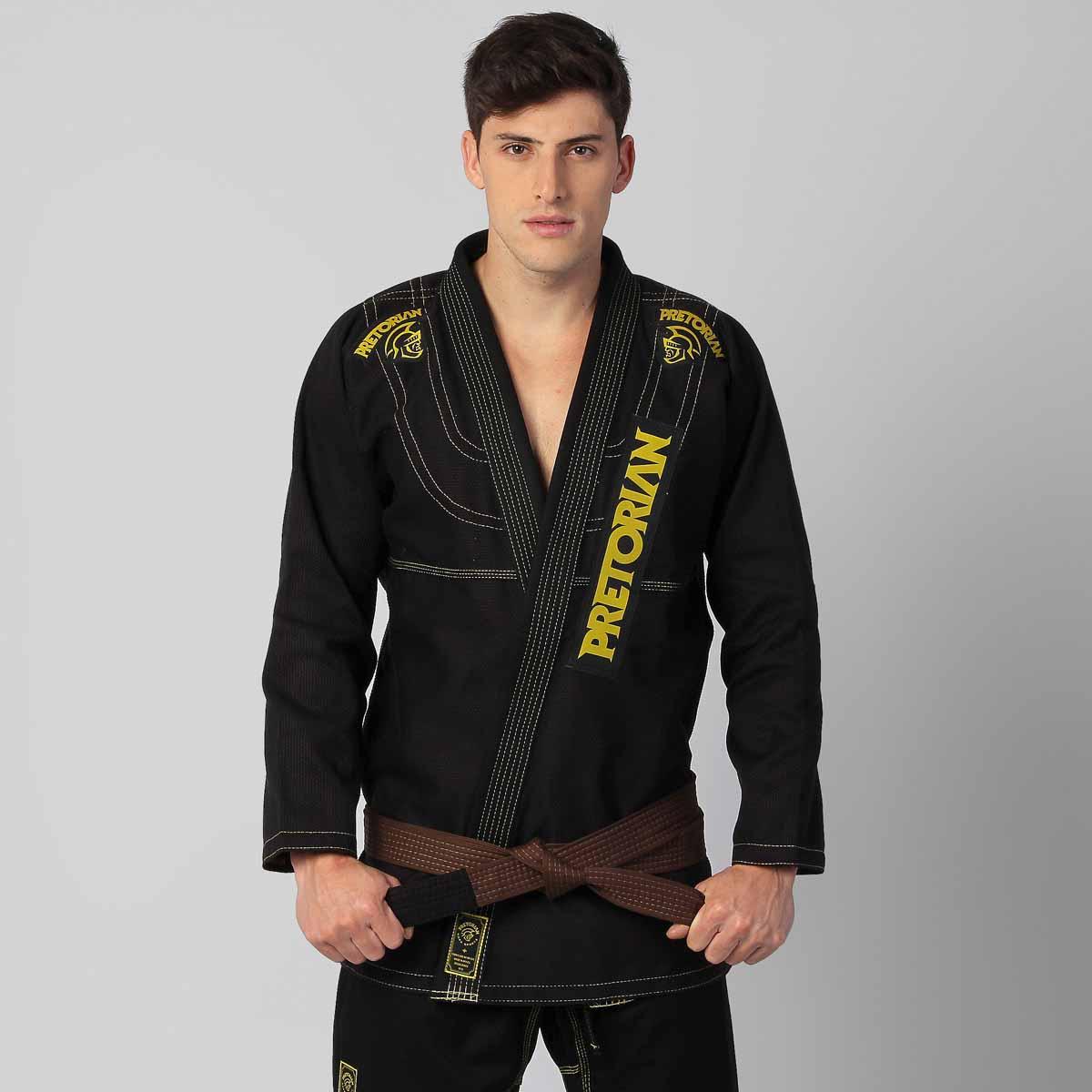Kimono Jiu Jitsu - Pretorian Pro - Preto .  - Loja do Competidor