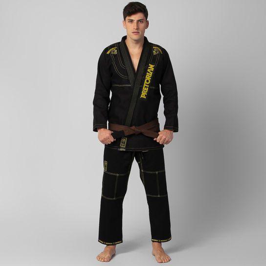 Kimono Jiu Jitsu - Pretorian Pro - Preto  - Loja do Competidor