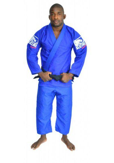 Kimono Jiu Jitsu Trancado - Bordado - Azul - Sucuri Fight Pro  - Loja do Competidor