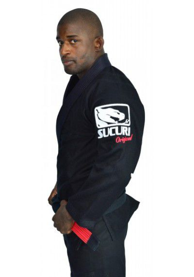 Kimono Jiu Jitsu Trancado - Bordado - Preto - Sucuri Fight Pro  - Loja do Competidor
