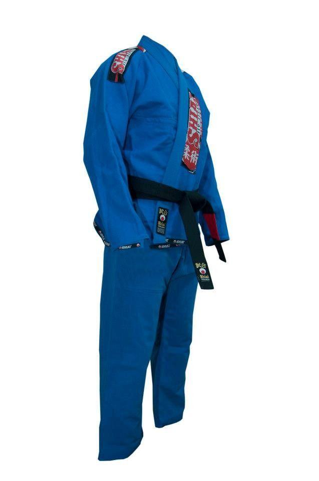 Kimono Jiu Jitsu - Trancado - Classic - Shiai- Azul