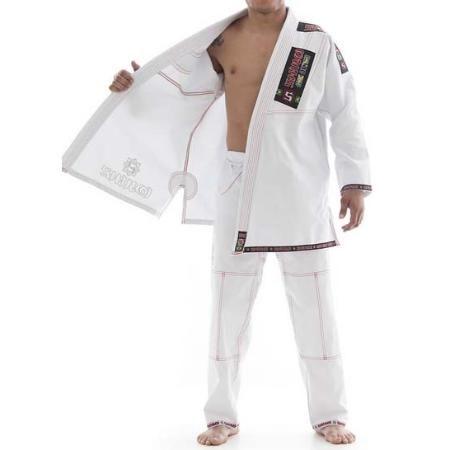 Kimono Jiu Jitsu - Trancado - Plus - Shiroi - Branco  - Loja do Competidor