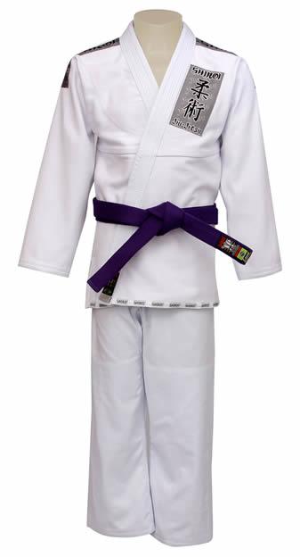 Kimono Jiu Jitsu - Trancado - Tradicional - Shiroi - Branco