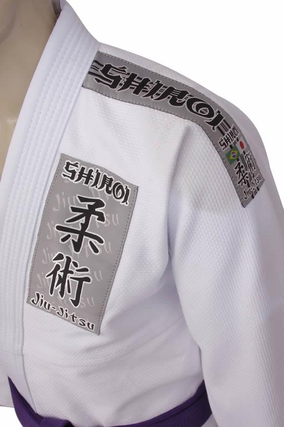 Kimono Jiu Jitsu - Trancado - Tradicional - Shiroi - Branco  - Loja do Competidor