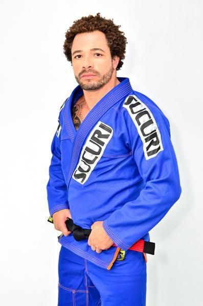 Kimono Jiu Jitsu Trancado - Sucuri Fight Pro - Azul