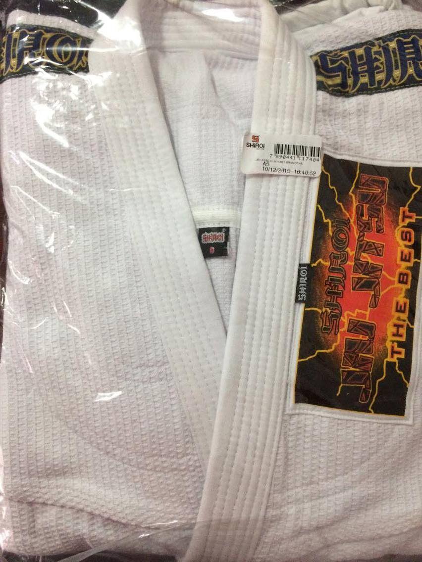 Kimono Jiu Jitsu - Trancado - The Best - Shiroi - Branco  - Loja do Competidor