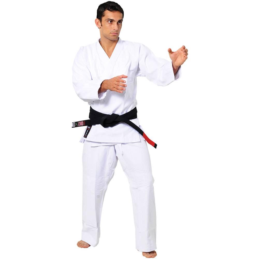 Kimono Judo Gi - Brim Reforçado - Branco - Adulto - Ippon