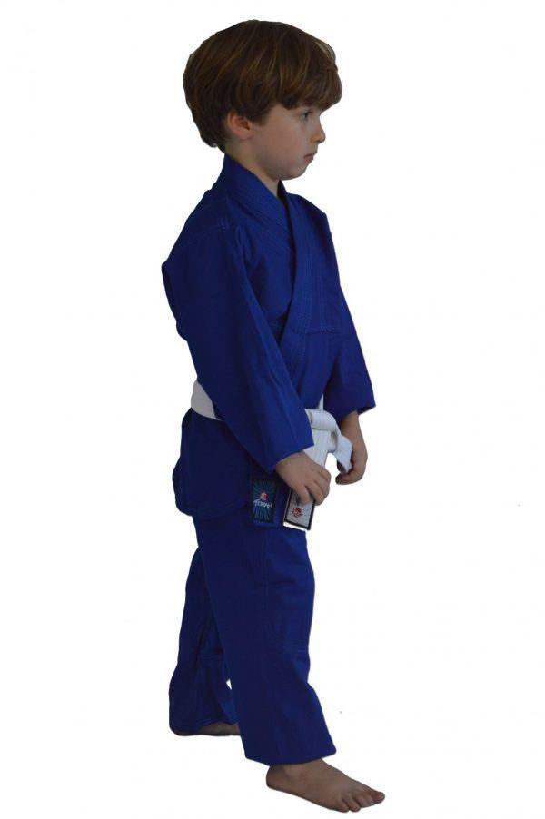 Kimono Judo Gi / Jiu-Jitsu - Combat KC- Infantil - Azul - Torah