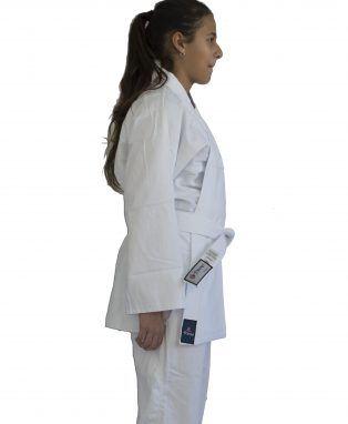 Kimono Judo Gi / Jiu-Jitsu - Combat KC- Infantil - Branco- Torah