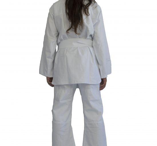 Kimono Judo Gi / Jiu-Jitsu - Combat KC- Infantil - Branco- Torah  - Loja do Competidor