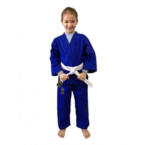 Kimono Judo Gi / Jiu-Jitsu - Reforçado- Infantil - Azul - Pretorian .