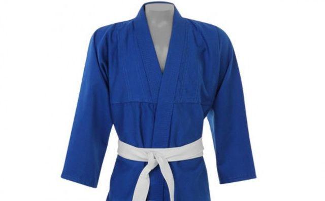 Kimono Judo Gi / Jiu-Jitsu - Reforçado- Infantil - Azul - Pretorian .  - Loja do Competidor