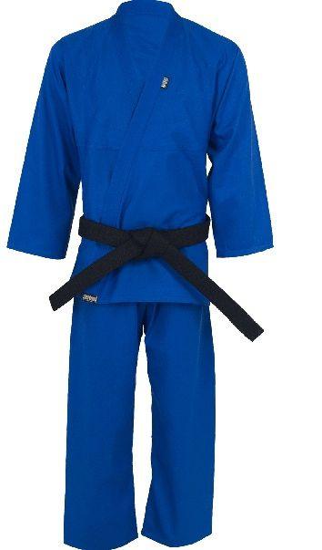 Kimono Judo Gi / Jiu-Jitsu - Reforçado- Infantil - Azul - Shiroi .  - Loja do Competidor
