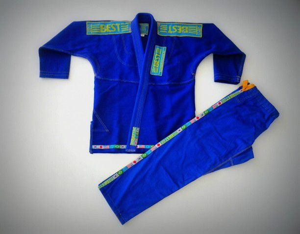 Kimono Judo Pro Series - Azul- Infantil - Best Defense .  - Loja do Competidor