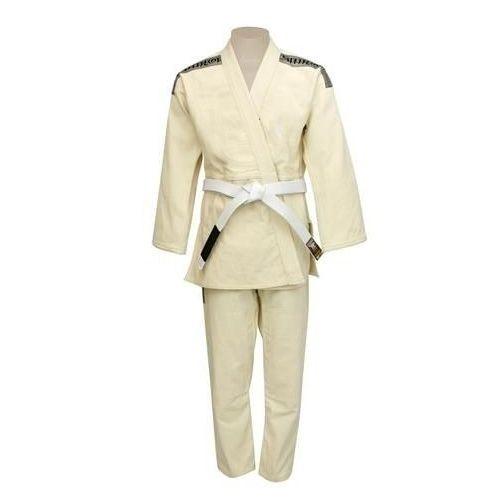 Kimono Judo  - Trançadinho - Tradicional - Adulto - Shiroi - Crú  - Loja do Competidor