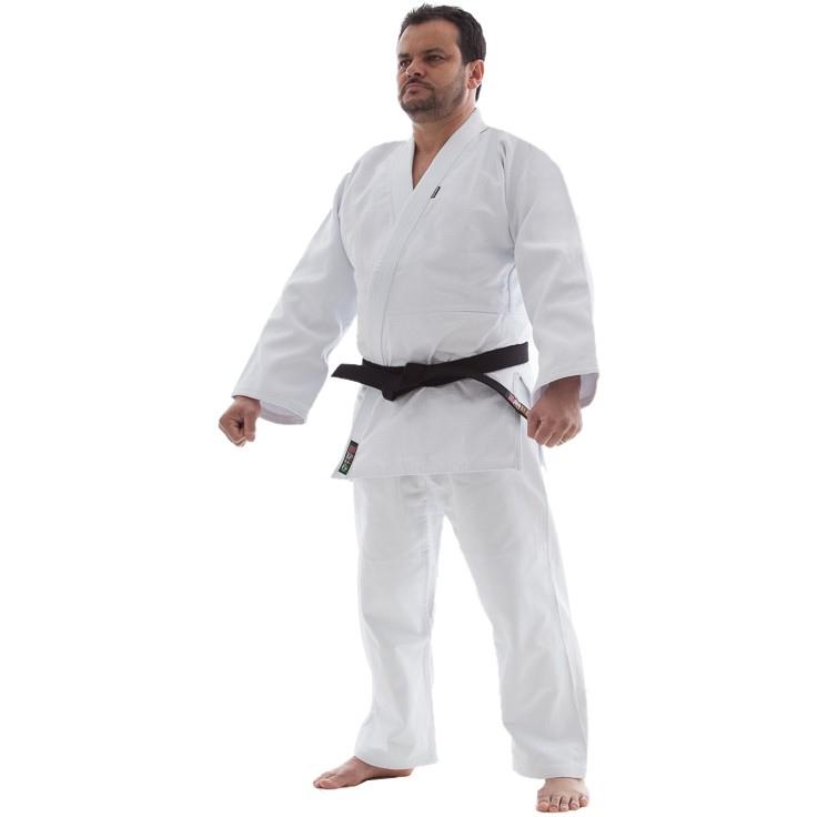 Kimono Judo - Trancado Medio - Shiroi - Branco  - Loja do Competidor