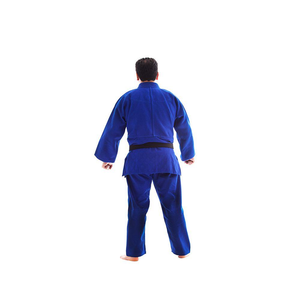 Kimono Judo - Trancado - Master - Shiroi - Adulto - Azul -  - Loja do Competidor