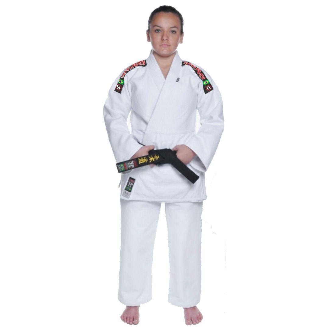 Kimono Judo - Trancado - Master - Shiroi - Adulto - Branco .  - Loja do Competidor