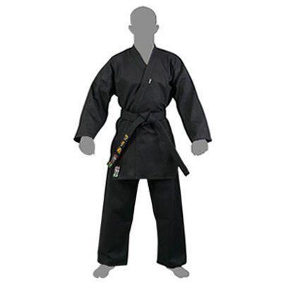 Kimono Karate / Hapkido / Ninjutsu Start - Preto - Adulto - Shiroi .