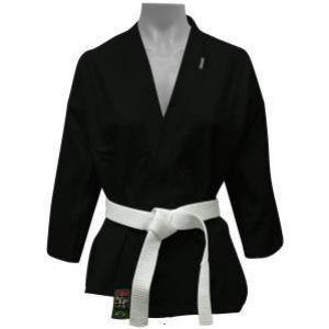 Kimono Karate/Hapkido/Ninjutsu Start - Preto - Infantil - Shiroi
