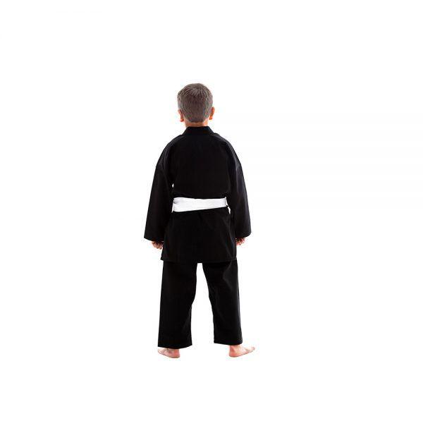 Kimono Karate/Hapkido/Ninjutsu Start - Preto - Infantil - Shiroi  - Loja do Competidor