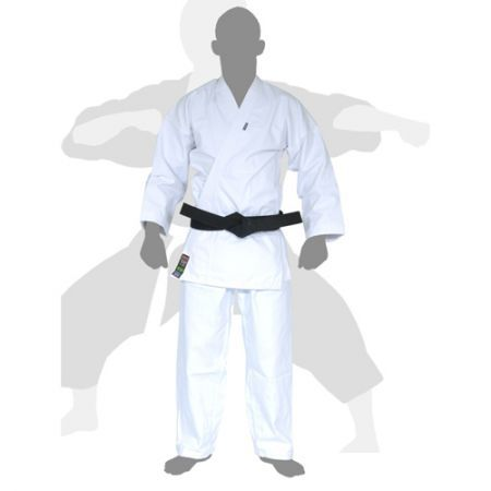 Kimono Karate - Heavy Canvas-  Branco - Adulto - Shiroi  - Loja do Competidor