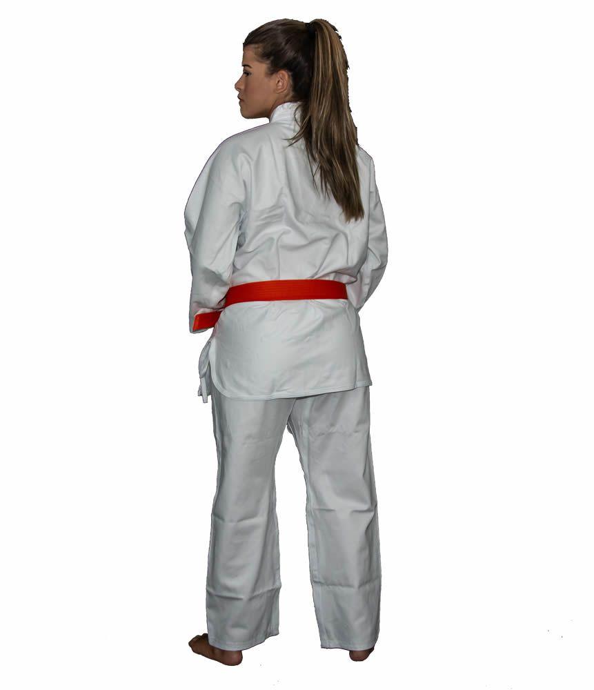Kimono Karate KS Brim Light - Branco - Adulto - Torah  - Loja do Competidor