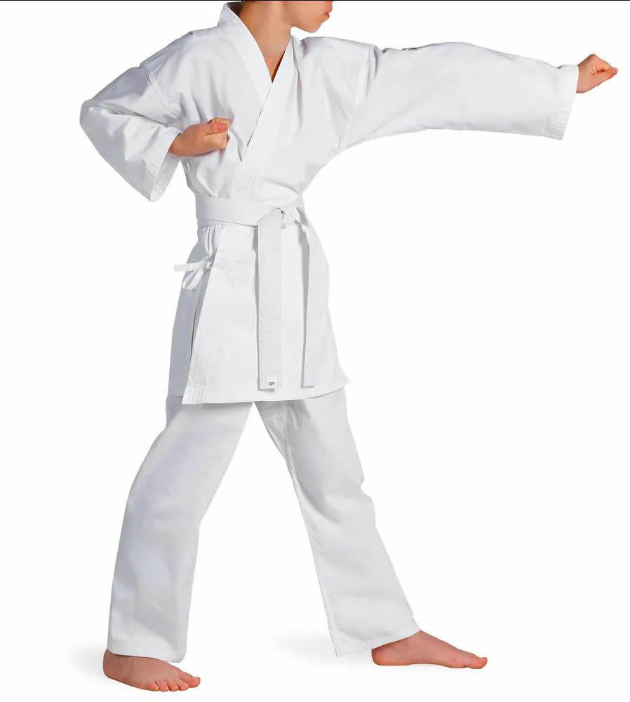 Kimono Karate KS Brim Light - Branco - Infantil - Torah  - Loja do Competidor