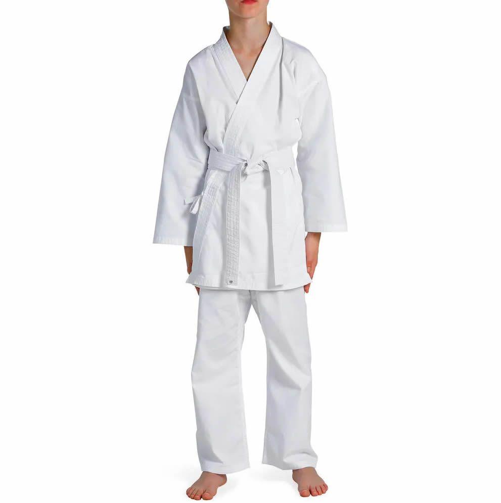 Kimono Karate KS Brim Light - Branco - Infantil - Torah  - Loja do Competidor