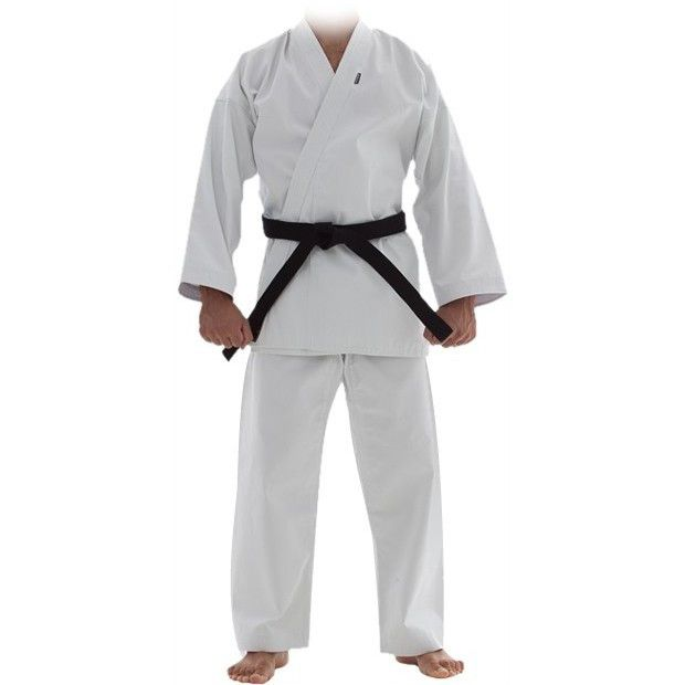 Kimono Karate Oxford -  Branco - Adulto - Shiroi